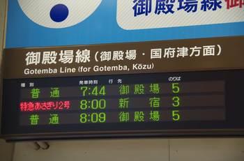 沼津駅の発車案内
