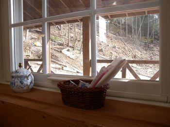 窓際の風景