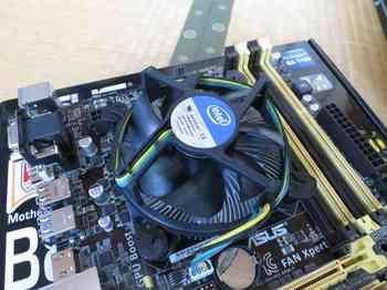 CPU装着