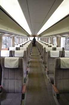 371系の座席